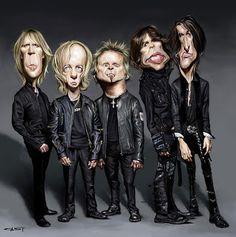 Aerosmith (by Sebastian Cast -Dibujante)