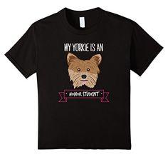Kids #Yorkie Honor Student Women's Dog Lover Tshirt 8 Blac... https://www.amazon.com/dp/B06Y69P81D/ref=cm_sw_r_pi_dp_x_KxbbzbPYMDAXE