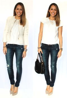 J's Everyday Fashion: Today's Everyday Fashion: Fresh Denim