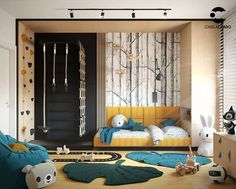 Baby Room Design, Girl Bedroom Designs, Baby Room Decor, Indoor Playroom, Kids Basement, Creative Kids Rooms, Cool Kids Bedrooms, Kid Spaces, Boy Room