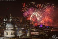 London's fireworks 2015