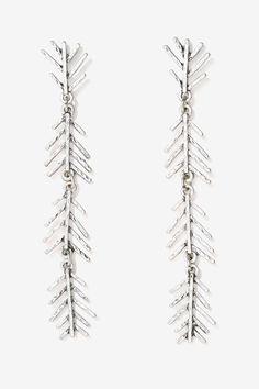 Slings 'n Arrows Drop Earrings