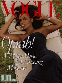 Oprah graced Vogue's October 1998 cover.