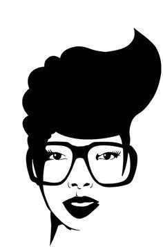 Chic and Sassy Natural Hair Art! Black Girl Art, Black Women Art, Black Girls Rock, Black Art, Art Girl, Black Girl Magic, Natural Hair Art, Natural Hair Styles, Short Hair Styles
