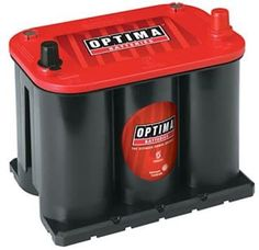 Optima 35 RedTop is designed to deliver high power cranking ability even in harsh weather conditions. This battery is great for heavy use by hot rods and off-roaders with its leak-proof high power a. Pagani Huayra, Mercedes Sls Amg, Off Roaders, Golf Cart Batteries, Optima Battery, Mc Laren, Lead Acid Battery, Diy Car, Car Ins