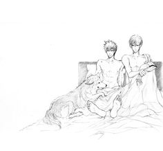 Ginoza x Kougami Ginoza Nobuchika, Psycho Pass, Manga, Gallery, Anime, Ships, Painting, Photoshoot, Happy