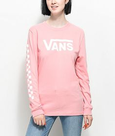 Vans Blossom Pink Long Sleeve T-Shirt
