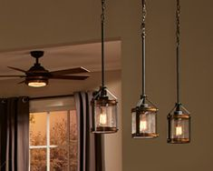 Kichler Barrington Outdoor Ceiling Fans, Outdoor Wall Lighting, Eclectic Chandeliers, Antler Lights, Recessed Lighting Trim, Transitional Lighting, Farmhouse Chandelier, Fan Light Kits, Cottage Furniture
