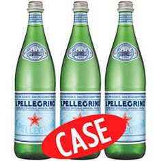 Product Image - San Pellegrino Sparkling Natural Mineral Water, Case