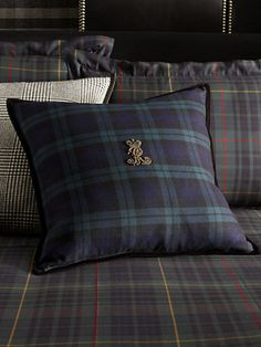 black watch pillows, RalphLauren.com