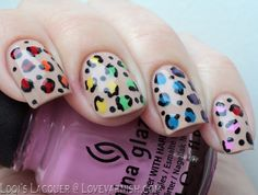 Love. Varnish, chocolate and more...: 31 Day Nail Art Challenge - Leopard print.  Gorgeous!