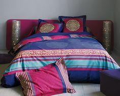 linge de lit motif mandala #becquet