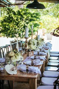 Reception Decor Details From Villa Montana Beach Resort
