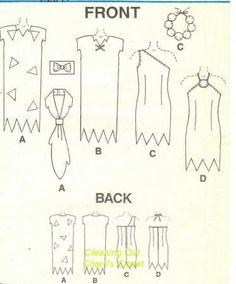 Wilma Flintstone Costume Pattern | ... McCall's Sewing Pattern for Boys' Girls' Kids' Flintstones Costumes