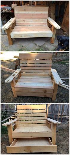 This wood pallet stylish bench project is the giant creation that is best enough to make it appear for the seating arrangement purposes. You would love the simplicity incorporation and stylishness blend. Plus this bench has been added with the incorporation of the storage space as under it.