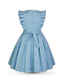 Платье ЛИЛИАН Alisia Fiori. Цвет голубой. Вид 2.