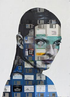 ----- Recycled World Trash Jewels and Sculptures on Pinterest | 207 P… www.pinterest.com236 × 325Search by image ELECTRONIC 2013 Oil and used computer disks on wood 112cm x 81cm At Raw art fair with Absolute Art Gallery http://absoluteartgallery.com/en-gb/artists/nick-gentry