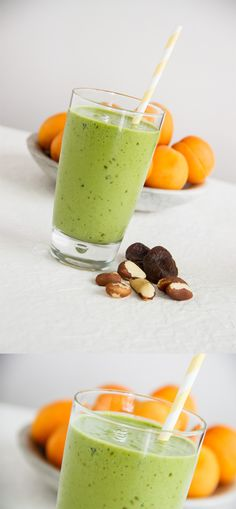 Skin saver apricot smoothie