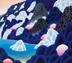 Artist painter Adam Sorensen paintings