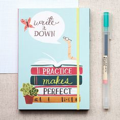 Fox and Star :: Bookworm Pocket Journal by Galison
