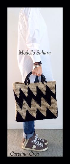 Modello Sahara- Juta Grezza www.carolinacrea.it