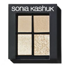 Sonia Kashuk Monochrome Eye Quad - Textured Taupe 08