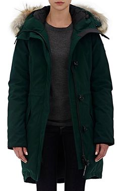 We Adore: The Fur-Trimmed Rossclair Parka from Canada Goose at Barneys New York
