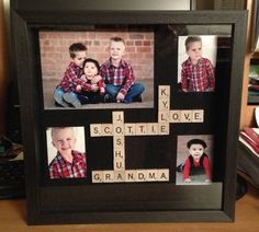 DIY Grandma gift for Christmas, Bday or Mother's Day