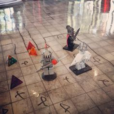 All those markings on the map probably not good #DnD