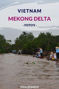 De Mekong Delta is erg vlak en heel groen en vruchtbaar.  Er zijn overal markten waar de lokale producten worden verkocht. Dit zijn zowel drijvende markten als markten aan wal in de diverse plaatsen in de delta. De varende huizen zijn hier een apart verschijnsel. Mijn foto's van de Mekong Delta en Can Tho zie je hier. Kijk je mee? #mekong #mekongdelta #drijvendemarkt #vietnam #jtravelblog #jtravel #cantho #fotos