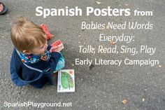 Beautiful posters with traditional #Spanishsongs and nursery rhymes create a text-rich environment and help build children´s literacy skills. #Spanishrhymes http://www.spanishplayground.net/spanish-nursery-rhymes-posters/
