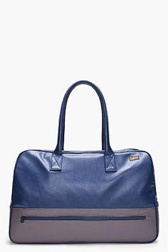 G-STAR Blue Hampton Sports Bag