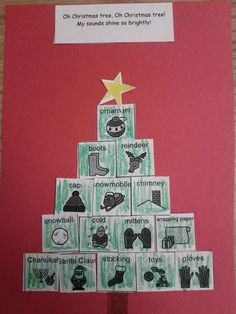 Speech Lady Liz: Holiday  Oh christmas tree artic