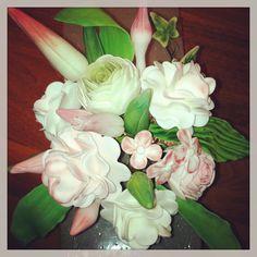 Blütenpasten Blumenstrauß !