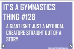 Im not a gymnast I used to be are all of my friends are so I understand.