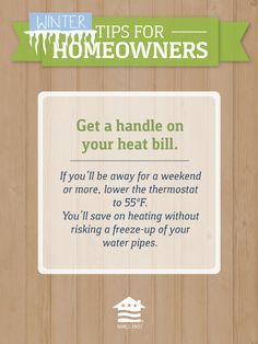 If you follow this tip, your weekend getaway could help you save some money on your utility bill!  Don't forget to lower your water heater temp too.  A little savings goes a long way. - MilitaryAvenue.com