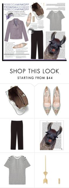 """""""Be the First To Style Rebecca Minkoff's Spring 2016 Collection!"""" by krischigo ❤ liked on Polyvore featuring moda, Rebecca Minkoff, Chiara Ferragni, FabFunky, T By Alexander Wang, women's clothing, women, female, woman y misses"""