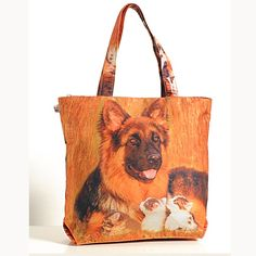 Animal Theme Bag - dogs-1