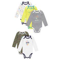 New collection aw16 ! --> bodies / Lot de 5 bodies garçon manches longues print cerf #bébé #baby #newarrivals #shopnow #style