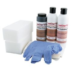 Fix worn Aniline Leather - Aniline Leather Repair Kit | Before and ...