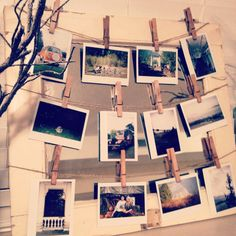 instagram: _cmacfarlane  Gorgeous 115 year old medicine cabinet I found that was saved from a home in New Jersey. Decided to re-purpose it into something to display my instant photos! Absolutely in love with the results! Follow for more pinspiration! #diydecor #decor #repurposed #shabbychic #clothespins #photodisplay #falldecor #homedecor #diy #oldwindow #oldmirror #weddingdecor #vintagedecor #shabbychicwedding #wedding #diywedding #rustic #distressed #rusticwedding #rusticdecor #rustic