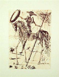 Dali's Don Quixote