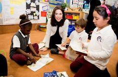 Princess Mary visits the Qatar Academy in Doha