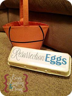 DIY Resurrection Eggs for Easter!