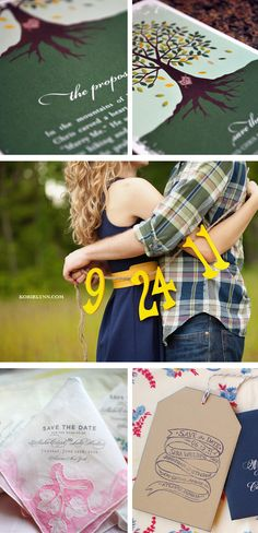 Things We Love - Unique Wedding Save the Dates - My Wedding Reception Ideas | Blog