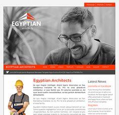 Egyptian Architects is a versatile and responsive Joomla template that features a range of customisation options that are all easy to use and configure. With a stunning slideshow positioned above the Joomla Templates, Egyptian, Architects, Looks Great, Fonts, Construction, Colours, Content, Logo