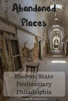 Philadelphia is the home of some of the most famous pieces of Colonial History, but the Liberty Bell isn't the only historic iron in town. Eastern State Penitentiary is an abandoned prison in the middle of Philadelphia that you can't overlook.