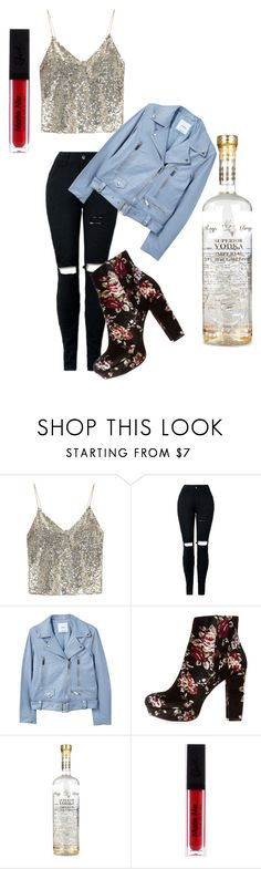 """""""Going to drink"""" by anitaviolakovacs on Polyvore featuring Alice + Olivia, MANGO and Charlotte Russe"""