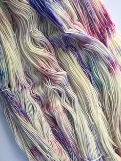 Stitch Mischief - Hand dyed yarn, project bags and all the colors! Hand Dyed Yarn, All The Colors, Purple, Pink, Stitch, Cream, Creme Caramel, Full Stop, Pink Hair