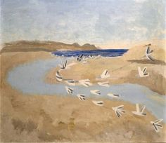 winifred nicholson Winifred Nicholson, Traveller's Tales, Great Paintings, Artist Life, Sea Birds, Textile Prints, Contemporary Paintings, Birds In Flight, Art Pieces